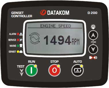 برد کنترل دیتاکام datakom d200
