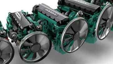 موتور ولوو-مشخصات فنی و قیمت موتور دیزل ولوو پنتا اف اچ n10