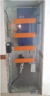 اجرای آسانسور هیدرولیک وسط پله 4 طبقه