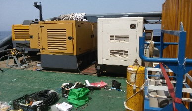 تعمیر و سرویس 4 عدد دیزل ژنراتور کشتی