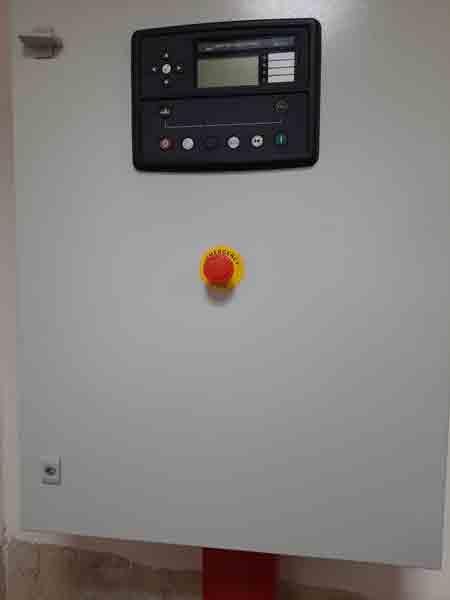 تعمیرات برقی تعویض برد کنترل دیپسی و نصب گرمکن 7عدد ژنراتور