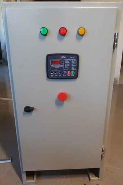 ساخت تابلو برق چنج اور دیزل ژنراتور 60kva