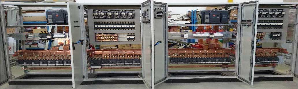 ساخت انواع تابلو برق صنعتی ، ساختمانی و اتوماسیون