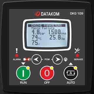 برد کنترلی plc دیزل ژنراتوردیتاکام (datakom)مدلDKG-109