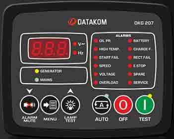 برد دیتاکام (datakom)مدل datakom DKG 207