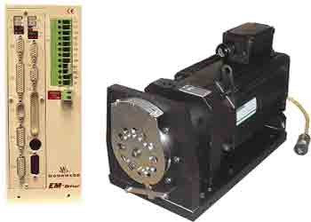 اکچویتور وودوارد مدل EM-80 and EM-300 All-Electric Actuators