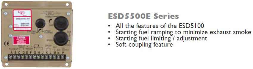 گاورنر GAC مدل ESD5500