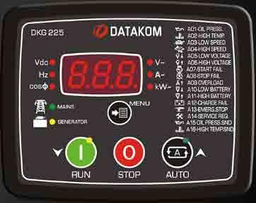 برد کنترلژنراتوردیتاکام (datakom)مدلDKG 225