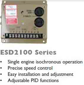 گاورنر GAC مدل ESD2100