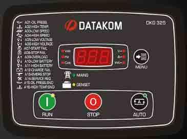 برد کنترلژنراتوردیتاکاممدلDKG 325