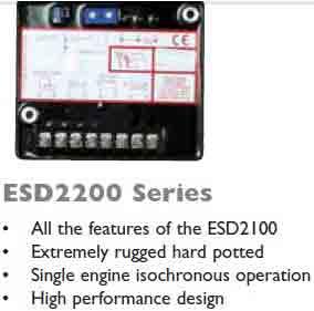 گاورنر GAC مدل ESD2200