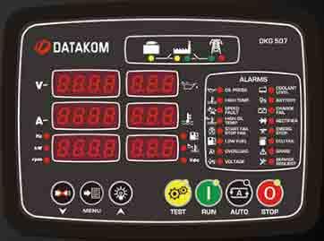 برد کنترل دیزل ژنراتوردیتاکام (datakom)مدلDKG 507