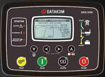 برد کنترل رله دیزل ژنراتوردیتاکام (datakom)مدلDKG 509