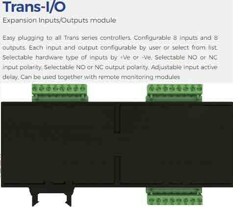 ماژول افزاینده تعداد ورودی و خروجیهای Emko مدلtrans i/o