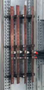شمش کشی پله ای با کابل غلاف در آموزش شین بندی تابلو برق
