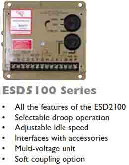 گاورنر GAC مدل ESD5100