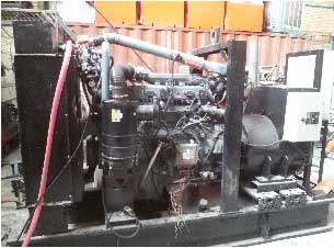 man gas generator 150kva - دیزل ژنراتور مان گازی دست دوم 150kva استمفورد