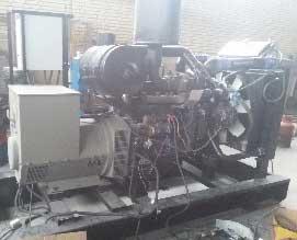 cummins gas generator 150kva - دیزل ژنراتور کامینز گاز سوز 150kvaنو با ژنراتور چینی