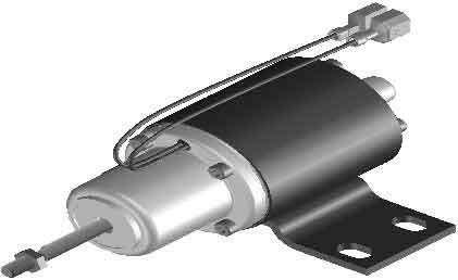اکچویتور وودوارد مدل WOODWARD APECS 0225