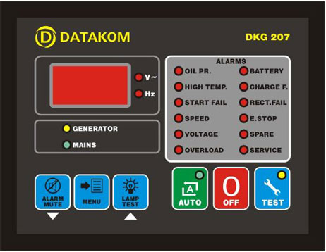 DATAKOM DKG 207 - برد دیتاکام dkg 207 datakom - قیمت خرید فروش برد 207 دیتاکام -