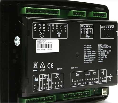 dse 6020 mkii - دیپسی 6020_برد کنترل ژنراتور دیپسی dse 6020 mkii - رله 6020