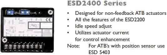 گاورنر GAC مدل ESD2400