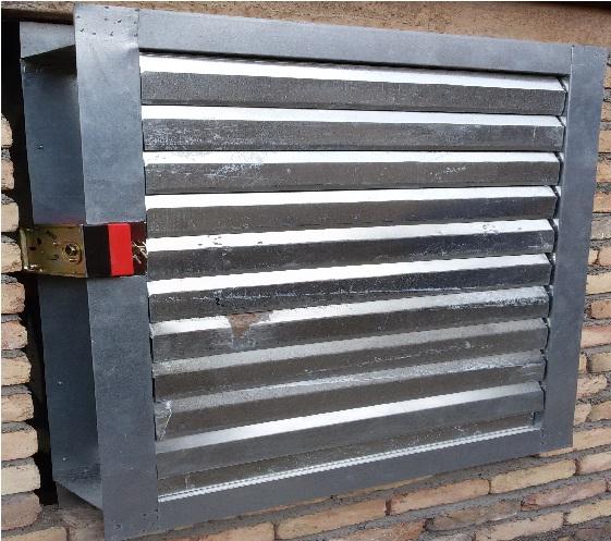 دمپر هوای سرد و گرم damper-دریچه ورودی و خروجی هوای اتاق دیزل ژنراتور-