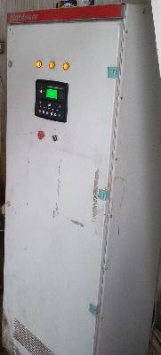 تعمیر ،  تعویض و بروز رسانی برد کنترلی و سنکرون پارالل سازی دیزل ژنراتور ولوو VOLVO1343 با برق شهر