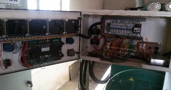 تعمیر دیزل ژنراتور ولوو 415kva volvo tad1232