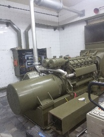جمع آوری ، نصب و راه اندازی و تعمیرات دیزل ژنراتور کامینز 59kva با موتور کامینز 6bt و ژنراتور لوری سامر و تابلو برق kuhse و epcu