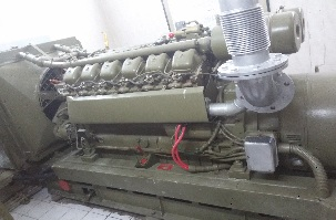 تعمیر دیزل ژنراتور mwm d232 v12با ژنراتور پیلرpiller 160kva پروژه ایستگاه مخابراتی