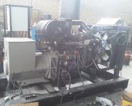 دیزل ژنراتور کامینز گاز سوز 150kvaنو با ژنراتور چینی