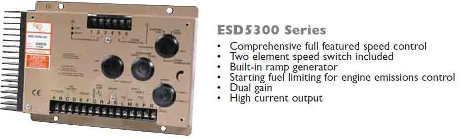 گاورنر GAC مدل ESD5300