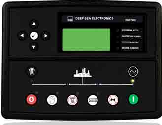 برد کنترلی plc دیزل ژنراتوردیپسی مدل 7520