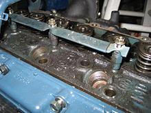 شمع گرمکن ، در زیر نوار تماس با موتور کوچک Kubota