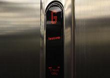 آسانسور KONE Ecodisc در حالت آتش نشانی