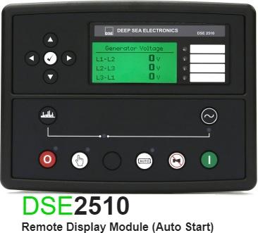 برد کنترلی plc دیزل ژنراتوردیپسی مدل dse 2510