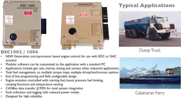 گاورنر دیجیتالی SDG700 و SDG800