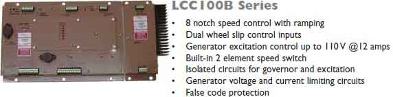 گاورنر دیجیتالی LCC109 و LCC200 و LCC300 و LCE275 و LCC100Bمخصوص لوکوموتیو و قطار