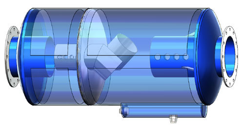 Spark Arrester - سرج ارستر یا جرقه گیر اگزوز - جرقه گیر یا اسپارک ارستر اگزوز موتور دیزل