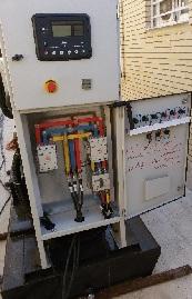 نصب و راه اندازی یک عدد دیزل ژنراتور ولوو231 ، 100kva با ژنراتور استامفورد انگلستان
