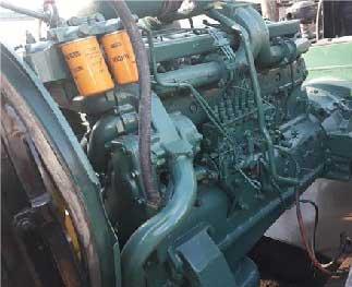 دیزل ژنراتور ولوو 250KVA مدل N12