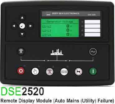 برد کنترلی plc دیزل ژنراتوردیپسی مدل dse 2520