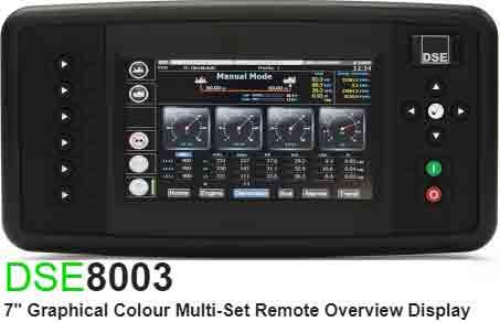 برد کنترلی plc دیزل ژنراتوردیپسی مدل dse 8003