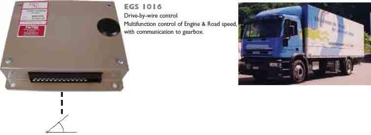 کنترلر سرعت ، موتور و جعبه دنده GAC مدل EGS1016