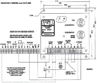 آموزش گاورنر دیزل ژنراتور  - طریقه سیم کشی گاورنر دیزل ژنراتور wiring diagram governor