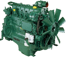 دیزل ژنراتور ولوو 180KVA مدل ولوو پنتا 620VE