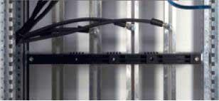 کابلهای متصل شده به شینه های آلومینیومی با سطح مقطع C با مته و چکش مخصوص