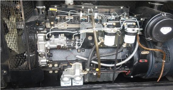 تعمیر کامل یک دستگاه دیزل ژنراتور  prkins2330 105kva