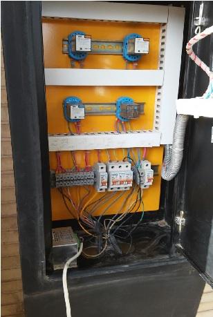 تعمیر کامل یک دستگاه دیزل ژنراتور  prkins2330 105kva تعمیر تابلو برق دیزل ژنراتور پرکنز مربوطه بابرد کنترلی plc دیزل ژنراتوردیتاکام (datakom) ساخت ترکیه